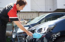 仕上げ手洗い洗車
